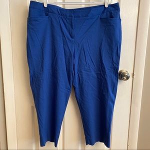 2/$15 or 3/$20- Lane Bryant blue capris